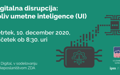 Panelna diskusija: Digitalna disrupcija: vloga umetne inteligence
